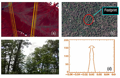 Evaluation of Space-borne LIDAR for Terrain Feature Extraction and Mapping